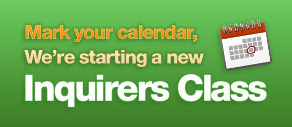 Membership Class- January 7, 2018  Noon-1:45 p.m.